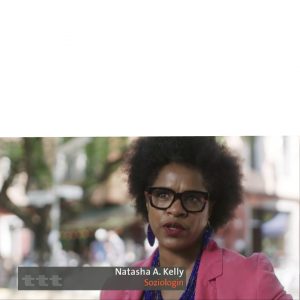 Natasha A. Kelly über Rassismus in Deutschland bei ttt im Ersten